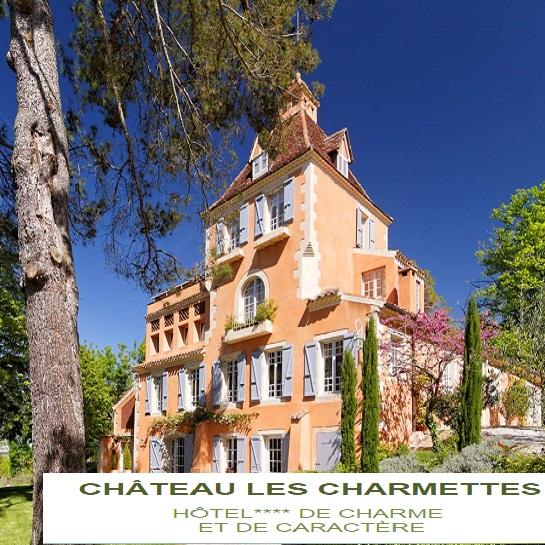 Demeure de prestige Château Les Charmettes